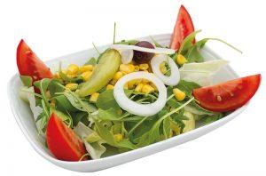 Grüner Salat Aroma Pizza