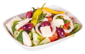 Griechischer Salat Aroma Pizza