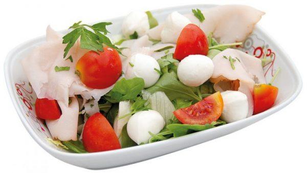 Italienischer Salat Aroma Pizza