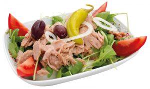 Thunfisch Salat Aroma Pizza