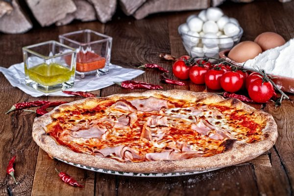 Prosciutto Aroma Pizza