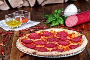 Salami Aroma Pizza
